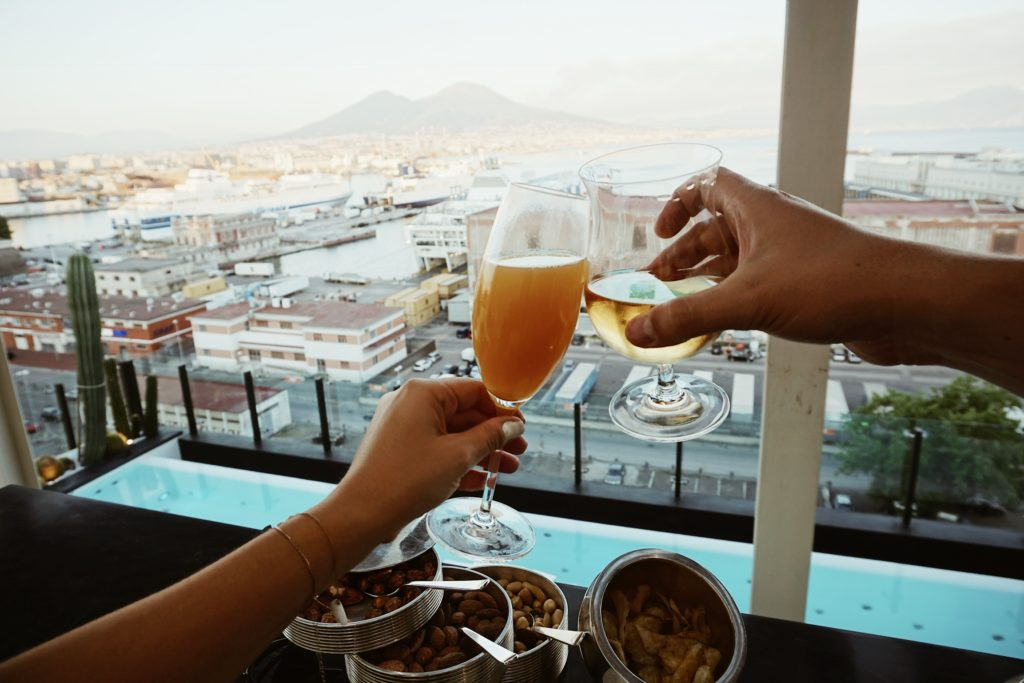 Road Trip through Italy, Honeymoon, Nicole Eachus Naples, Romeo Hotel