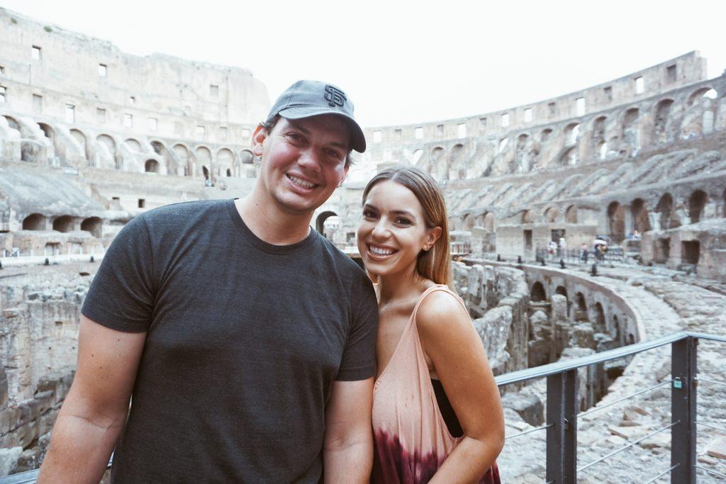 Road Trip through Italy, Honeymoon, Nicole Eachus Rome, Colloseum
