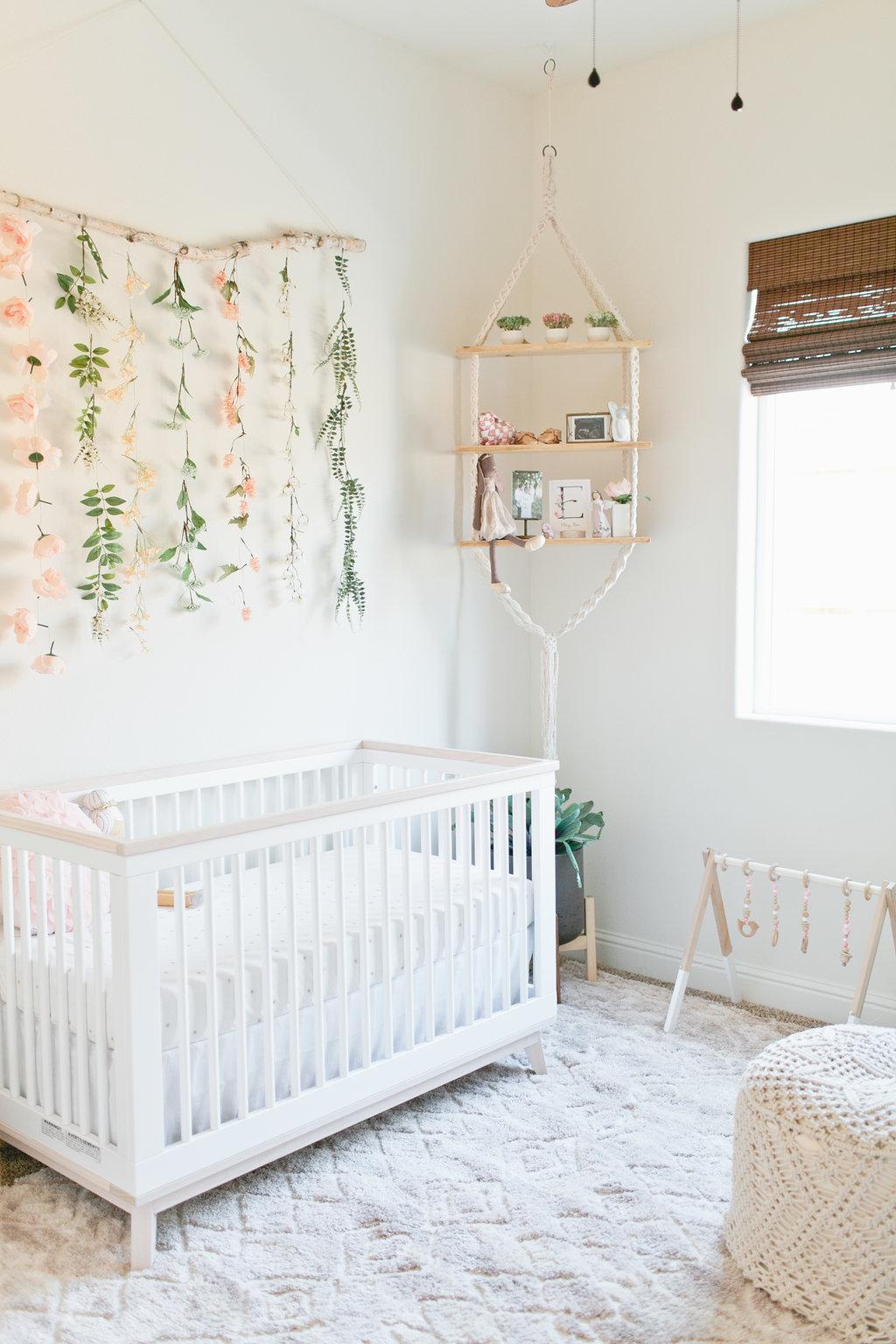 Inside Ellery Rose's nursery