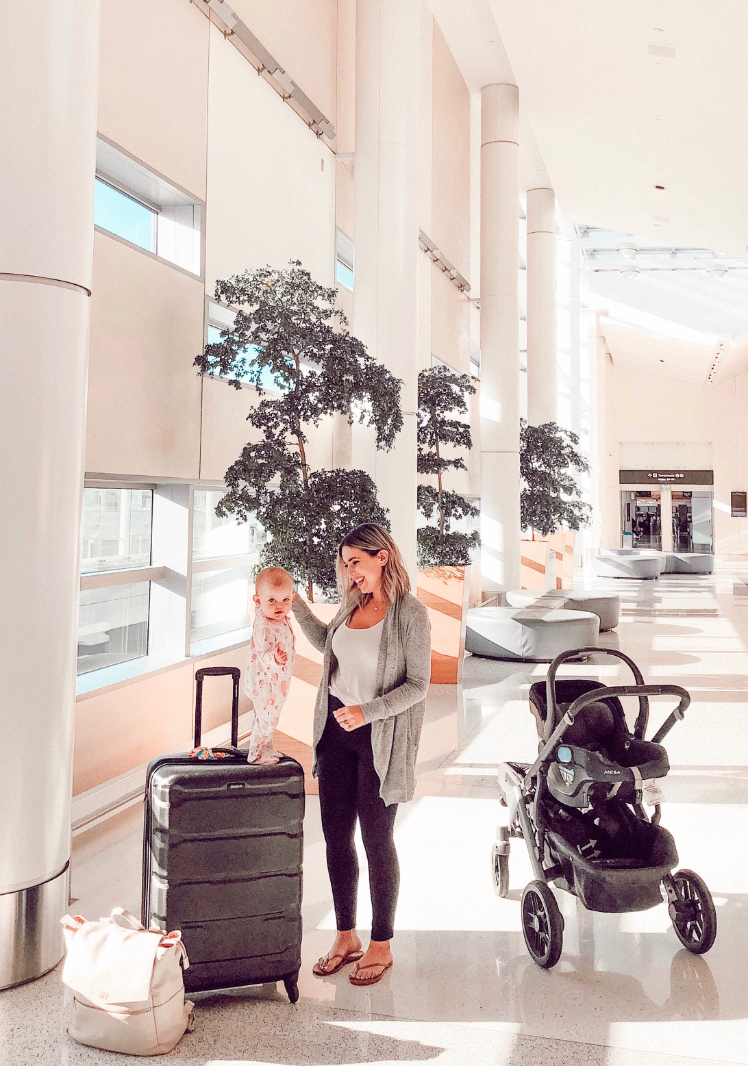 My top 10 tips for 'Flying with a Baby'