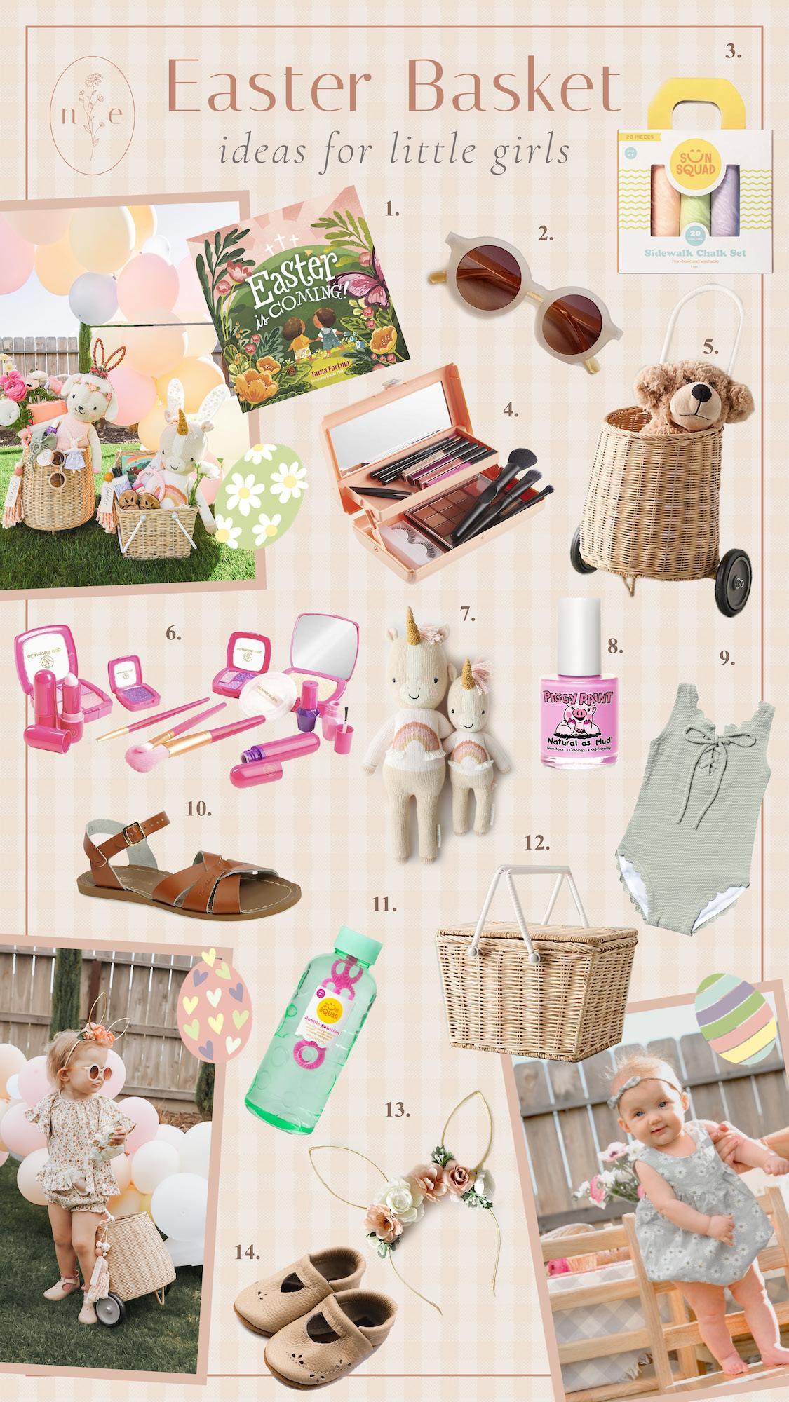 Easter Basket Ideas For Toddler Girls