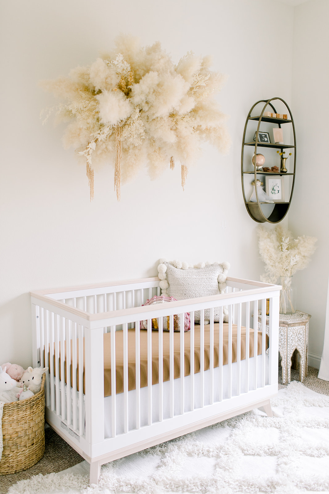 Inside Goldie June's nursery