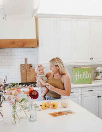 hello fresh nicole eachus meal delivery kit