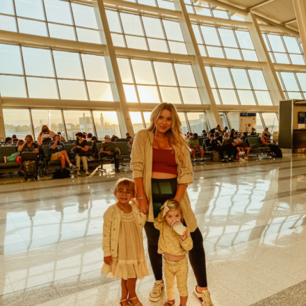 nicoleeachus, travel tips with baby, flying with a baby